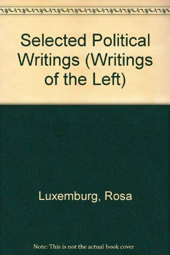 9780224006194: Selected Political Writings (Writings of the Left) (English and German Edition)
