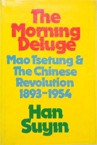 9780224007931: The Morning Deluge