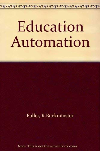 9780224008167: Education Automation