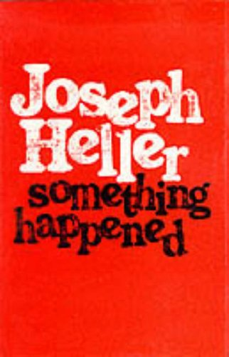 9780224010658: SOMETHING HAPPENED.