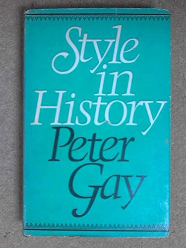 9780224010863: Style In History