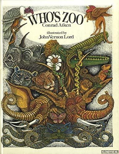 9780224013512: Who's Zoo