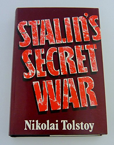9780224016650: Stalin's Secret War