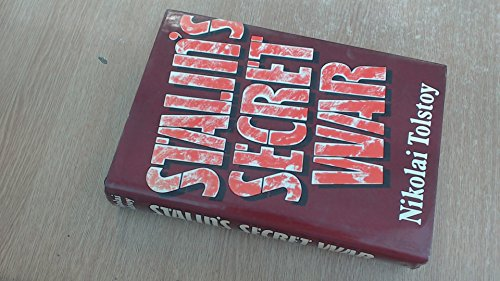 Stalin's Secret War (0224016652) by Tolstoy, Nikolai