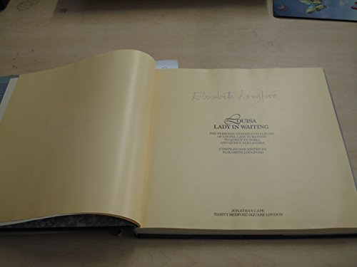 Louisa, Lady in Waiting: Personal Diaries and: Antrim, Louisa,Countess of