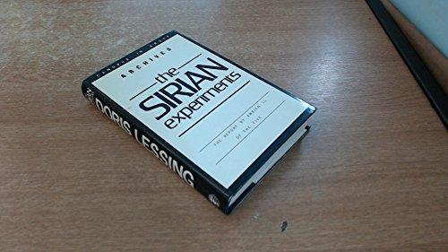 9780224018913: The Sirian Experiments