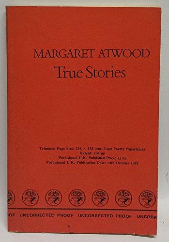 9780224020718: True Stories (Poetry Paperbacks)