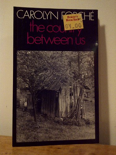 9780224020954: The Country Between Us (Poetry Paperbacks)