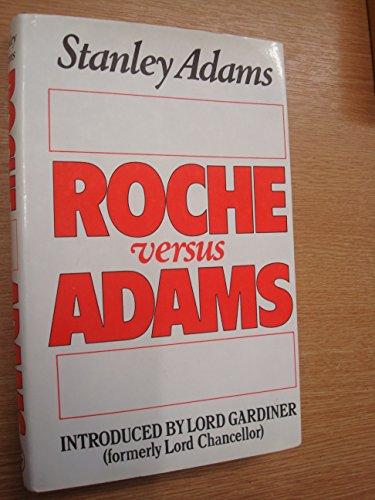 9780224021807: Roche Versus Adams