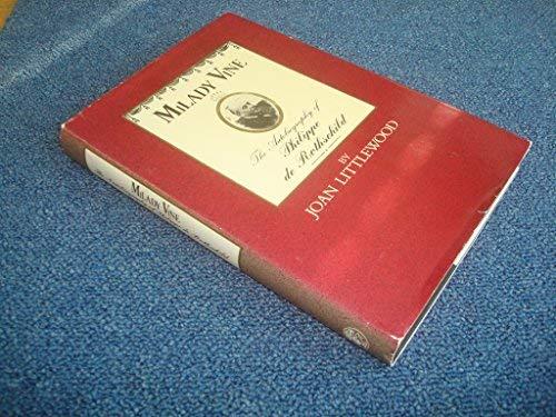 9780224022088: Milady Vine: Autobiography
