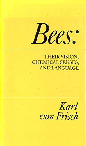 9780224022149: Bees: Their Vision, Chemical Senses and Language (Cape editions)