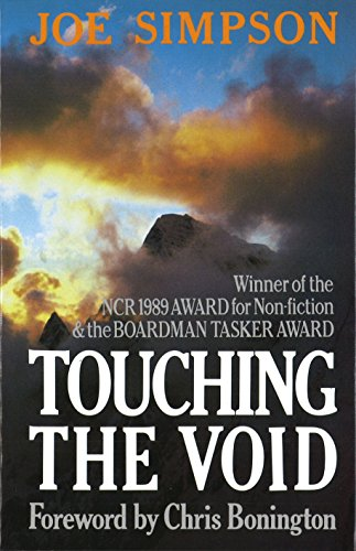 from touching the void joe s account In this traumatic, edgy account of 'touching the void' you are given two scenarios of two men in completely different mind sets as they are faced with tough choices.