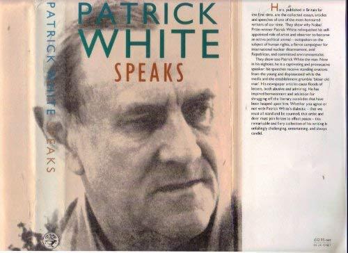 9780224027885: Patrick White Speaks
