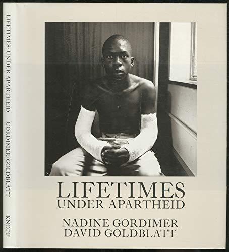 9780224028707: Lifetimes: Under Apartheid