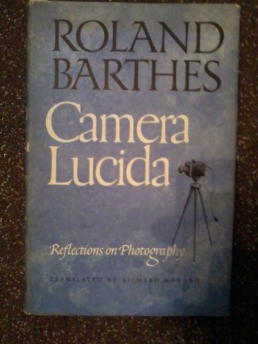 9780224029292: Camera Lucida: Reflections on Photography