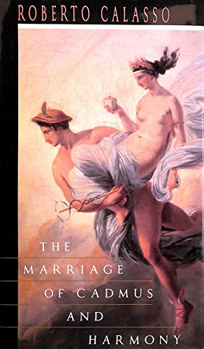 9780224030373: The Marriage of Cadmus and Harmony
