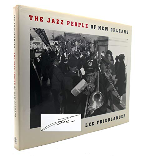 9780224030519: Friedlander Jazz People of New Orleans /Anglais