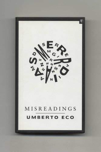 9780224030694: Misreadings [Signed]
