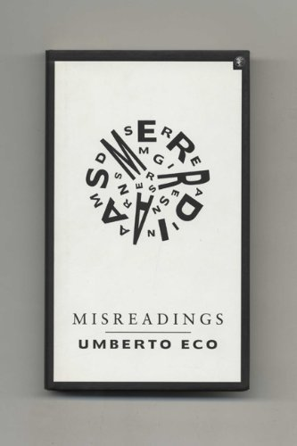 9780224030694: Misreadings - 1st UK Edition/1st Impression