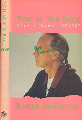 9780224031110: You at the Back: Selected Poems, 1967-87