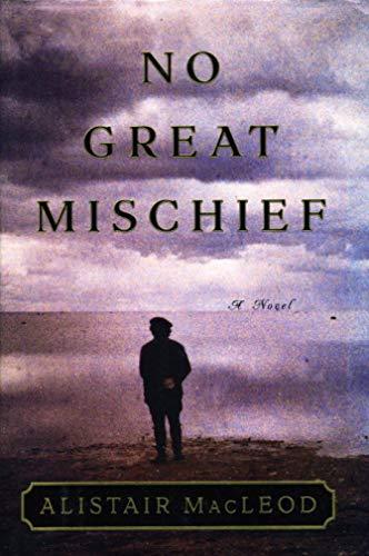 9780224061315: No Great Mischief - Oz/NZ Only