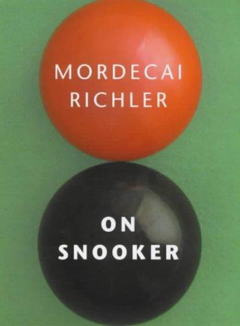 9780224061490: On Snooker