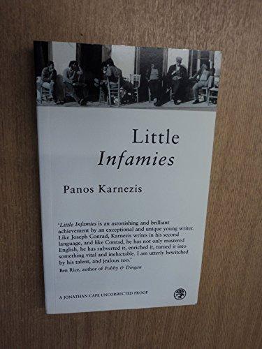 9780224062619: Little Infamies