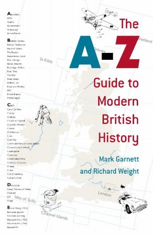 9780224063883: A-Z Guide To Modern British History