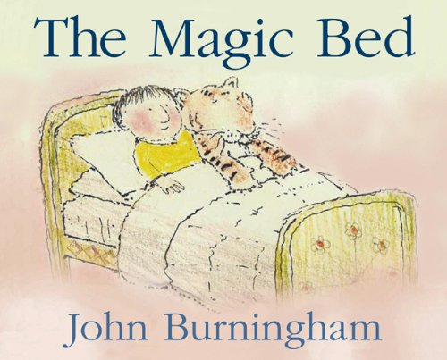Magic Bed (0224064681) by John Burningham