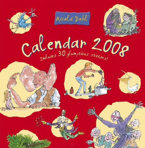 9780224070836: Roald Dahl Calendar 2008