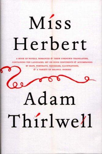 9780224081399: Miss Herbert