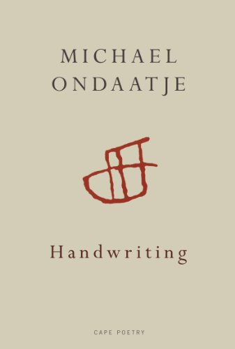 Handwriting (0224093800) by Michael Ondaatje