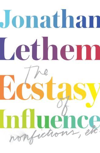 9780224093965: Ecstasy of Influence: Nonfictions, Etc