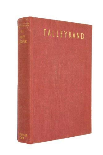 9780224601320: Talleyrand (Bedford History)