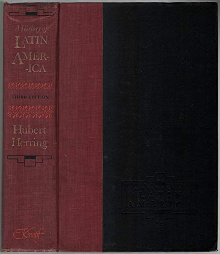 9780224602846: A HISTORY OF LATIN AMERICA: From the Beginnings to the Present.