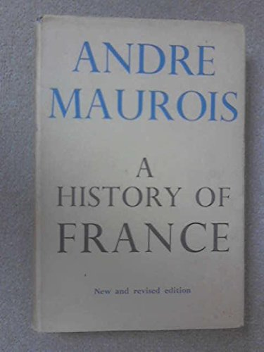9780224604840: A History of France