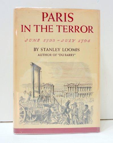 9780224609234: Paris in the Terror: June, 1793-July, 1794