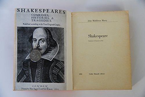 9780224610223: Shakespeare