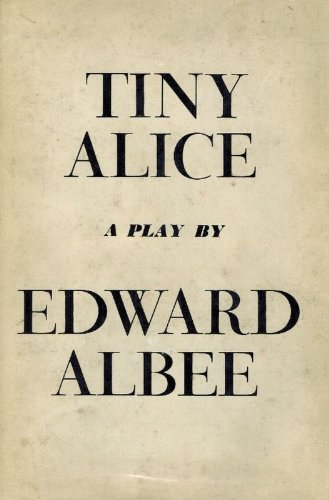 9780224610438: Tiny Alice: A Play