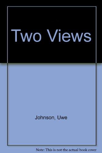 9780224611756: Two Views