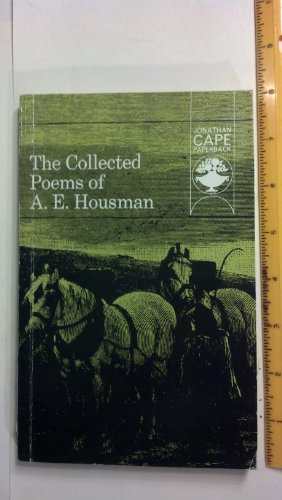 9780224611855: The Collected Poems of A. E. Housman (Jonathan Cape Paperback, No. JCP51)