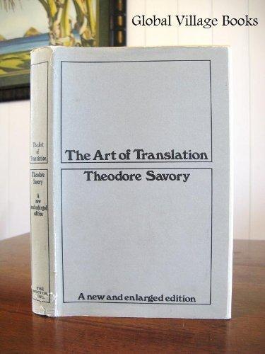 9780224613095: The Art of Translation