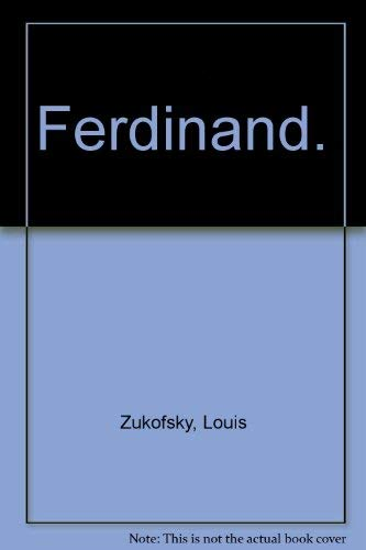 9780224615082: Ferdinand.