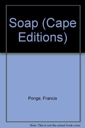 9780224616584: Soap (Cape Editions)