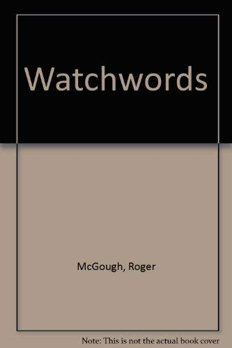 9780224617055: Watchwords