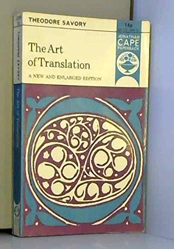 9780224617123: Art of Translation