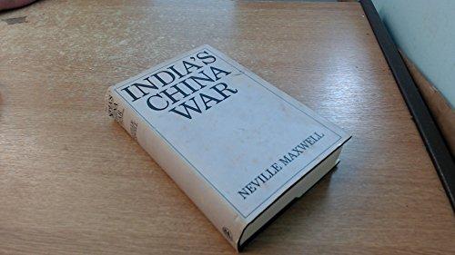 9780224618878: India's China War