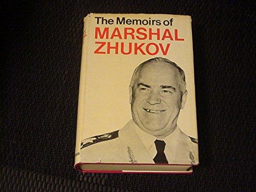 9780224619240: The Memoirs of Marshal Zhukov