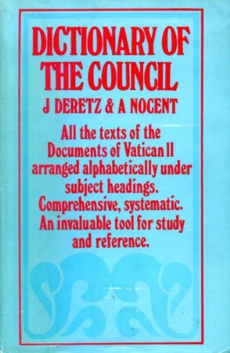 9780225275353: DICTIONARY OF THE COUNCIL