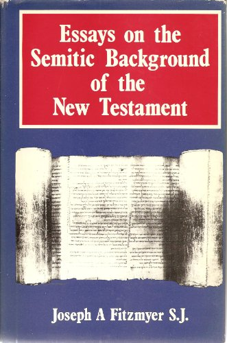 9780225488845: Essays on the Semitic Background of the New Testament